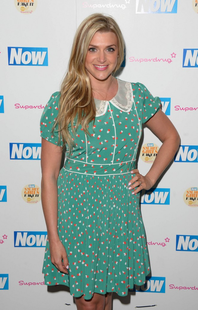 Anna Williamson - Now Smart Girls Fake It Campaign Launch in London
