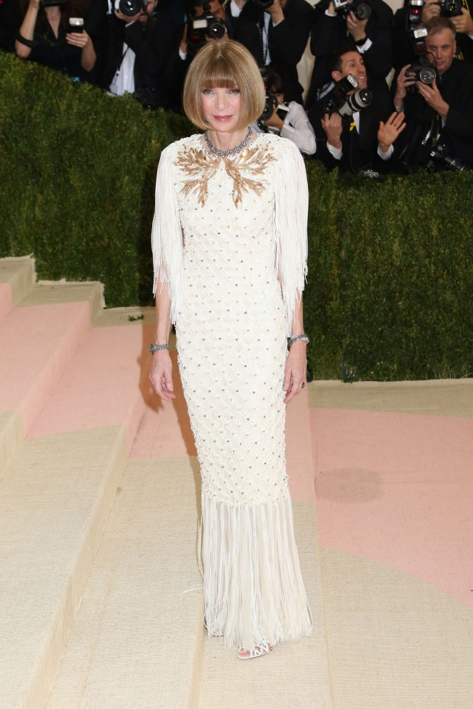 Anna Wintour - 2016 Met Gala in NYC