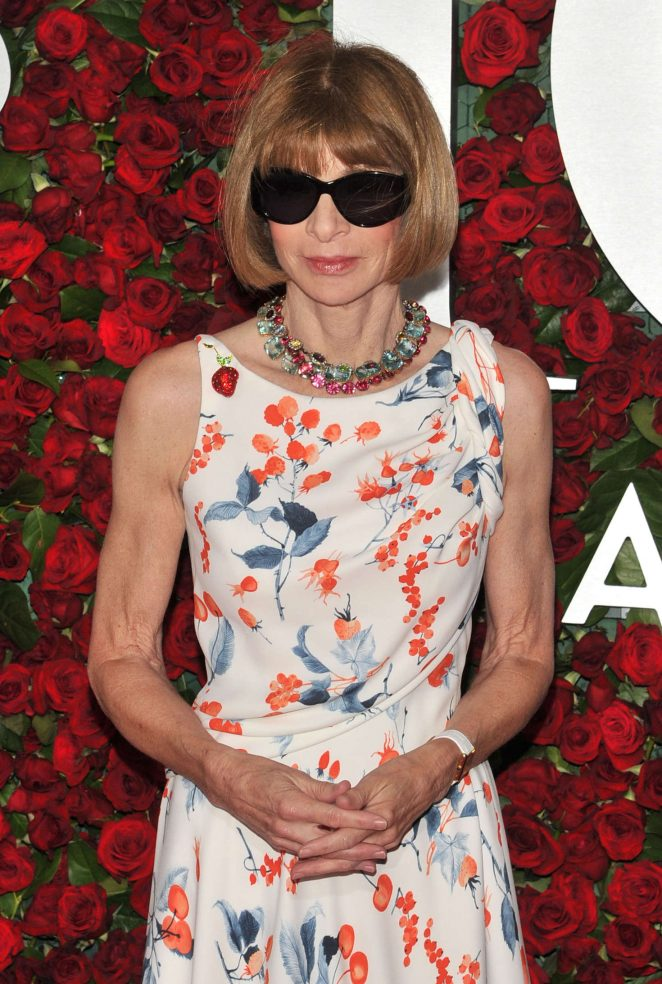 Anna Wintour - 2016 Tony Awards in New York