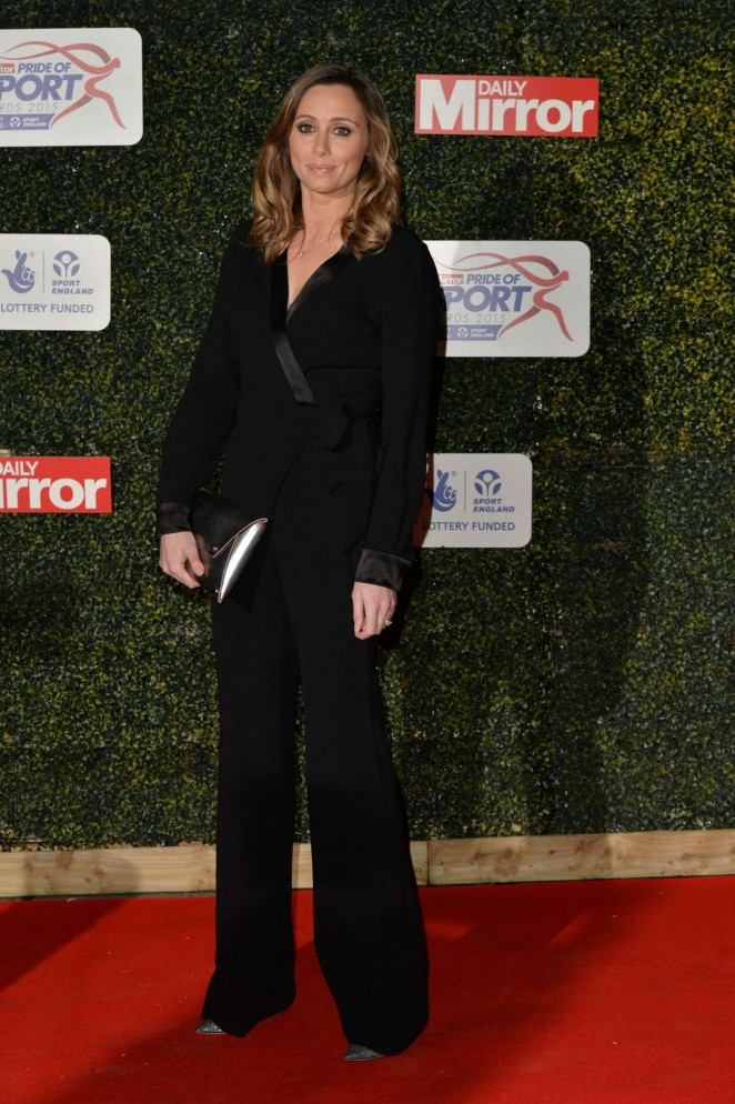 Anna Woolhouse - 2015 Daily Mirror Pride of Sport Awards in London