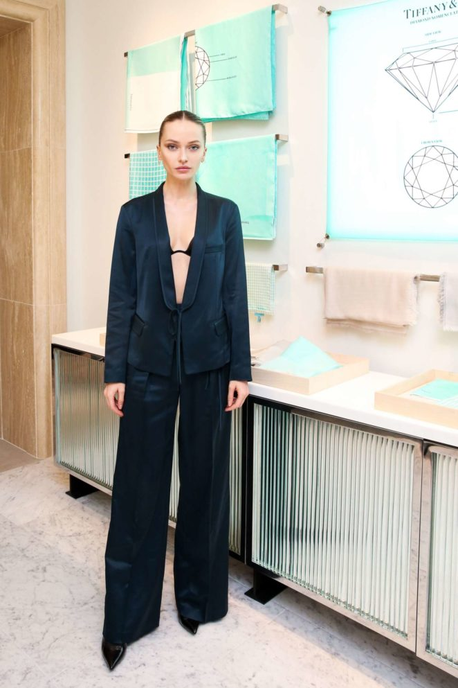 Annabella Barber - Tiffany and Co. Collection Launch Event in New York