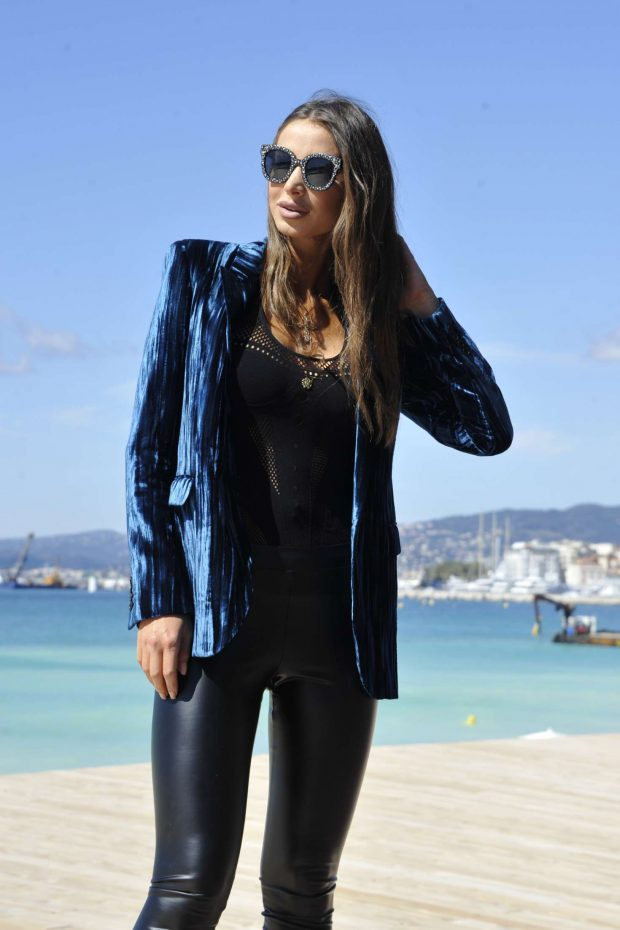 Annabella Hilal at Hotel Martinez in Cannes