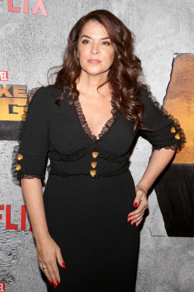 Annabella Sciorra - 'Luke Cage' TV Series Premiere in New York