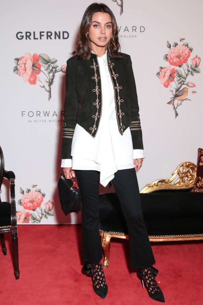 Annabelle Fleur - Forward by Elyse Walker x Grlfrnd Denim Launch in Paris