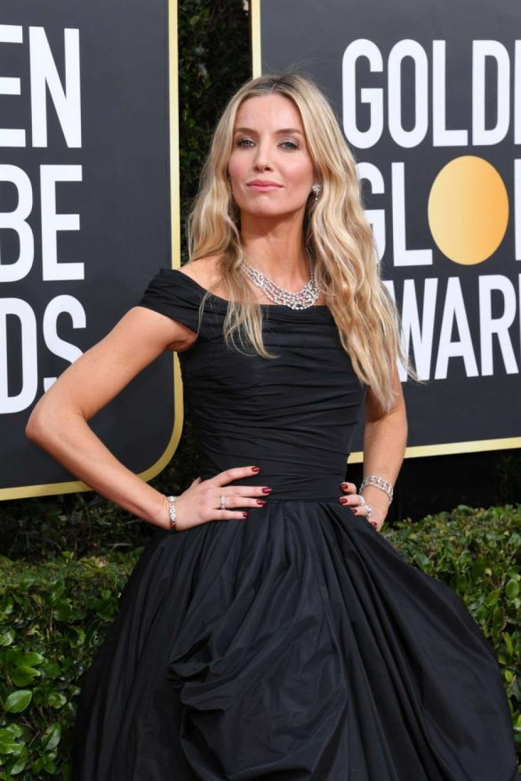 Annabelle Wallis - 2020 Golden Globe Awards in Beverly Hills