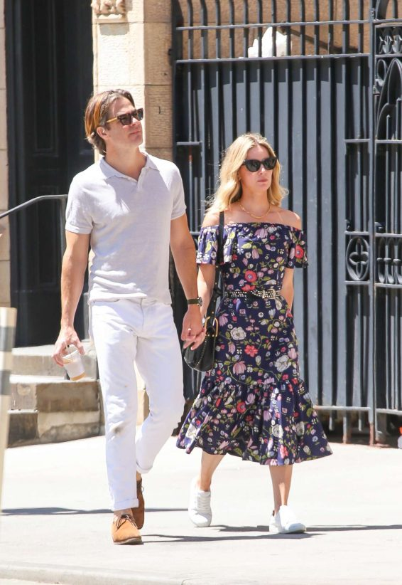 Annabelle Wallis and Chris Pine - Out in New York City