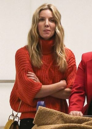 Annabelle Wallis - Arrives at LAX Airport in LA