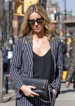 Annabelle Wallis Arriving at her hotel in New York City