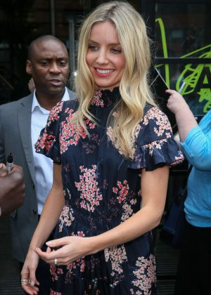 Annabelle Wallis at AOL Build Series in London