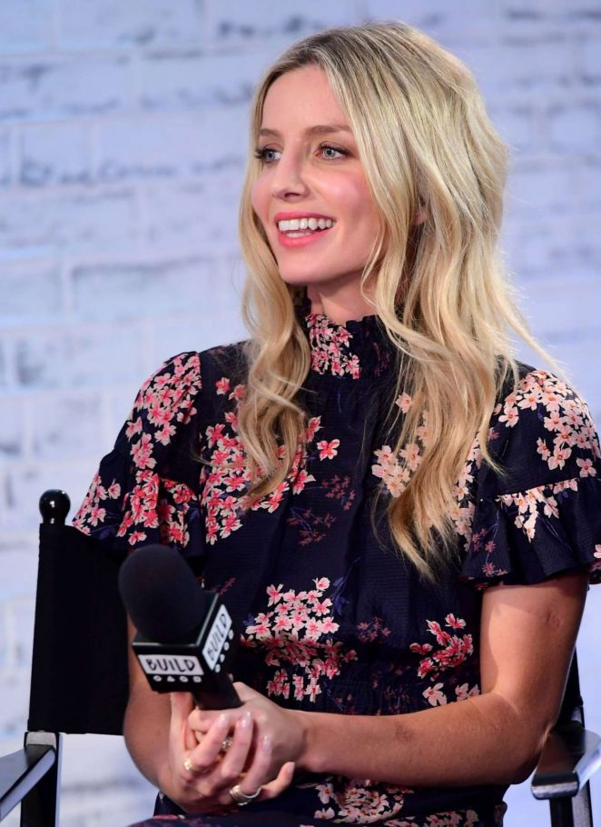 Annabelle Wallis at Build LDN event at AOL -01