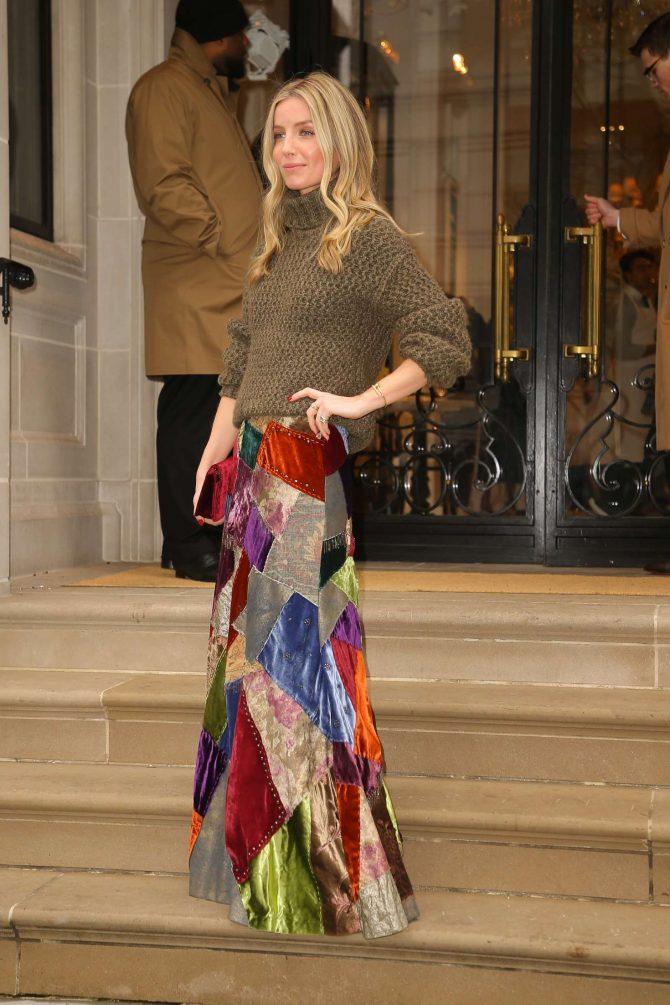 Annabelle Wallis at Ralph Lauren Fashion Show in NYC