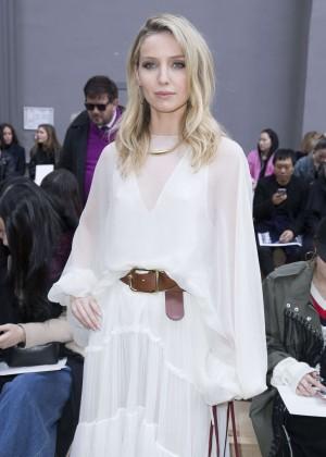 Annabelle Wallis - Chloe Fashion Show 2016 in Paris