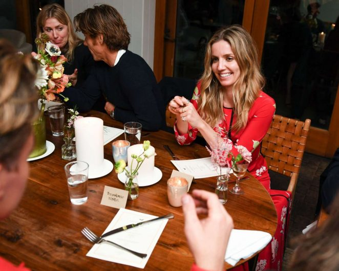 Annabelle Wallis - 'Edible Land And Seascapes' Presented by Black Cow Vodka in LA