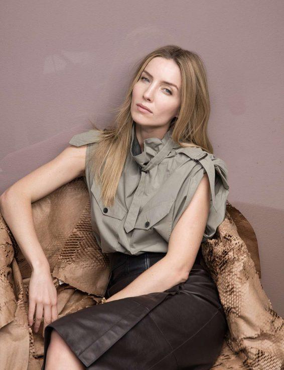 Annabelle Wallis for W Magazine (July 2019)