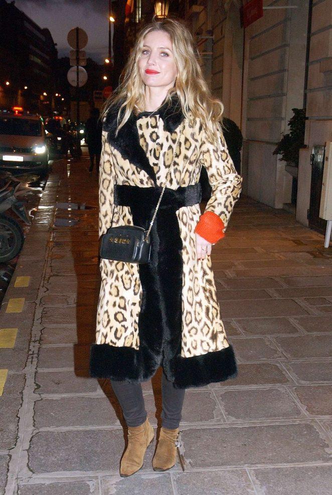 Annabelle Wallis - Leaves the Bristol Hotel in Paris