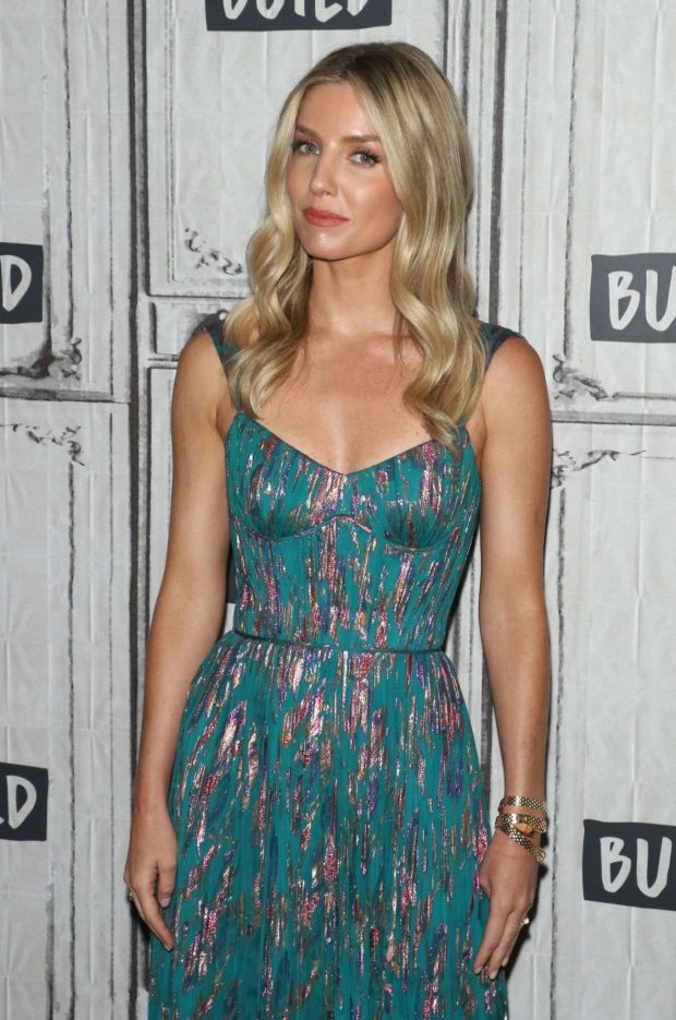 Annabelle Wallis - On Build Series to discuss 'The Loudest Voice' in New York City