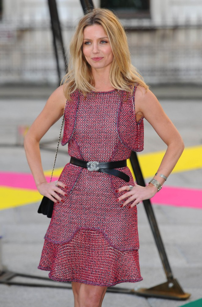 Annabelle Wallis - Royal Academy of Arts Summer Exhibition in London