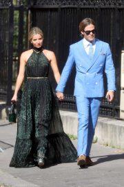 Annabelle Wallis - Zoe Kravitz Ceremony Wedding in Paris