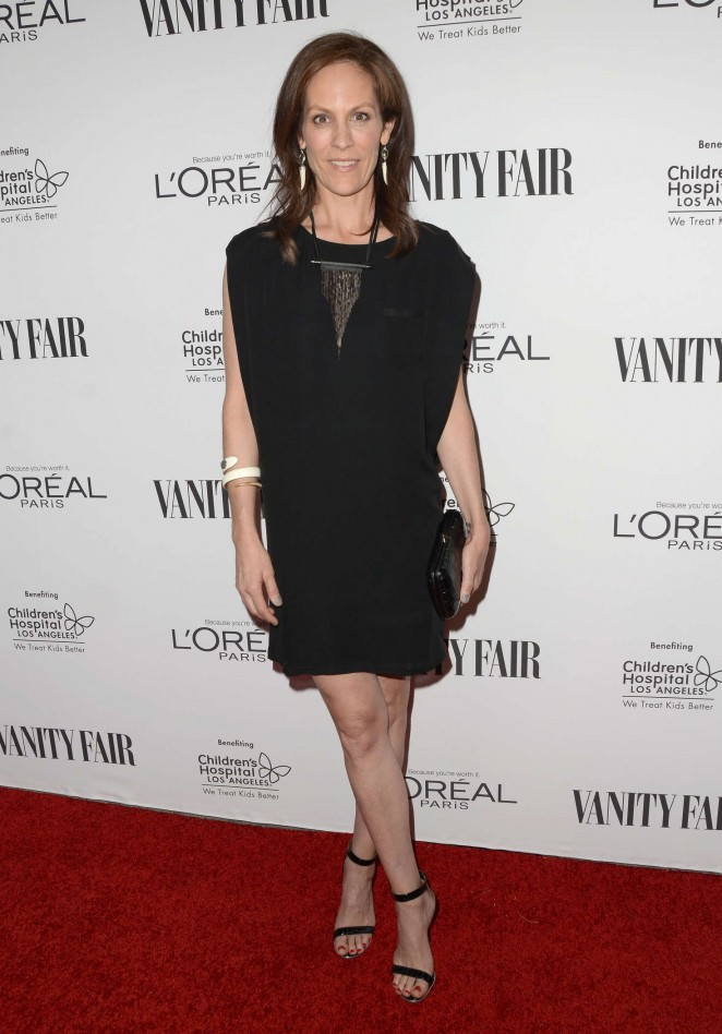 Annabeth Gish: Vanity Fair LOreal Paris and Hailee Steinfeld host DJ Night -01