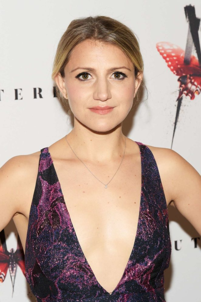 Annaleigh Ashford - M. Butterfly Broadway Play Opening Night in NY