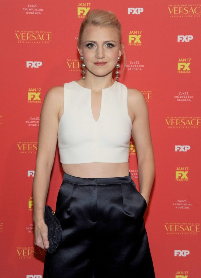 Annaleigh Ashford - 'The Assassination of Gianni Versace' Premiere in NY