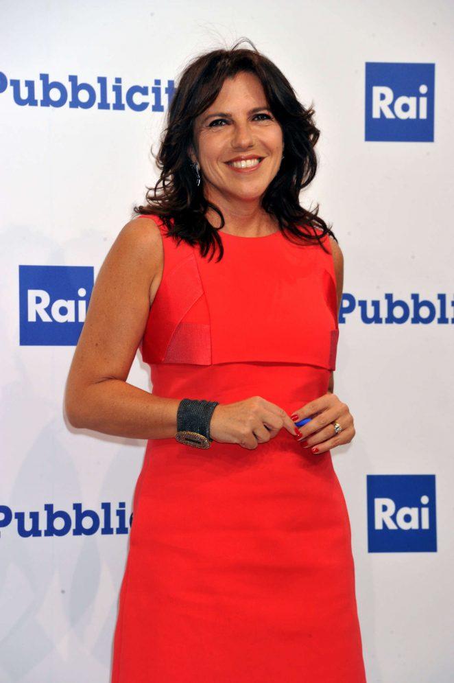 Annalisa Brughi - Rai Show Schedule Presentation in Rome