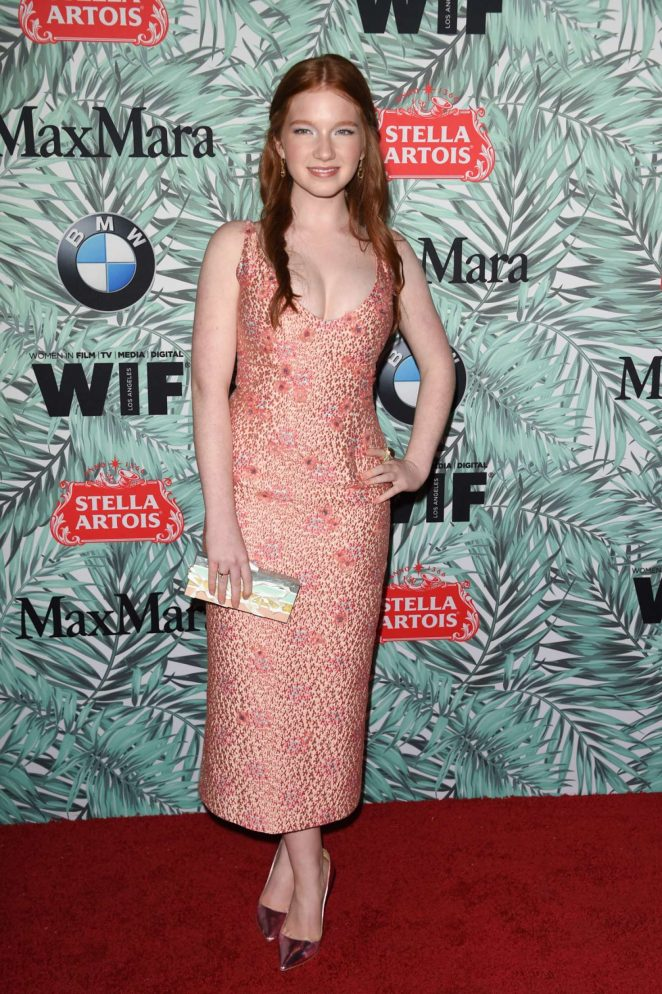 Annalise Basso: 10th Annual Women in Film Pre-Oscar Cocktail Party -01
