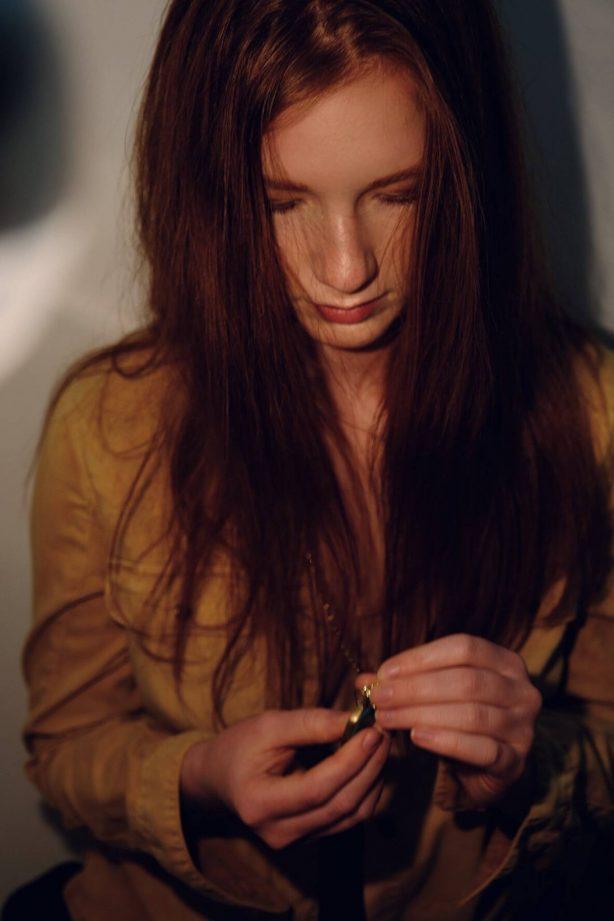 Annalise Basso - Self portraits 'Quarantine Diary' for the Bare Magazine (May 2020)