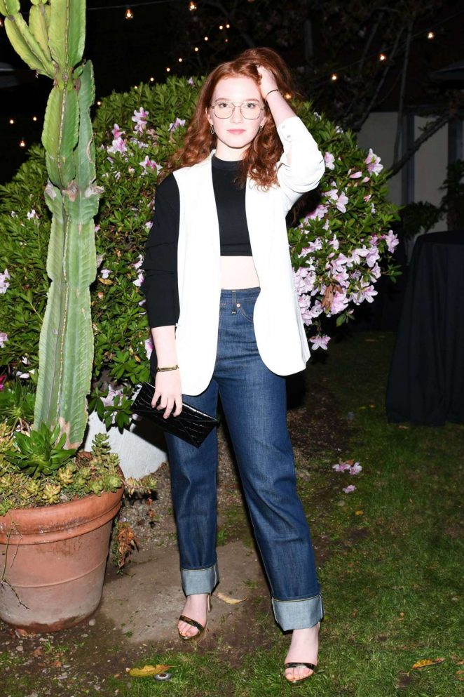 Annalise Basso - Shopbop + Levi's Made and Crafted Celebrate Exclusive Capsule Collection in LA