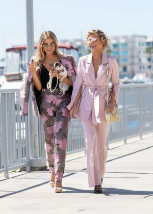 AnnaLynne and Rachel McCord - Out in Marina del Rey