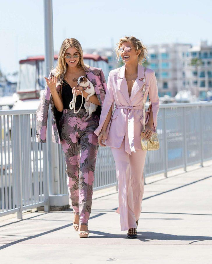 AnnaLynne and Rachel McCord - Out in Marina del Rey