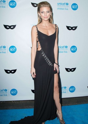 AnnaLynne McCord - 2015 UNICEF Black & White Masquerade Ball in LA