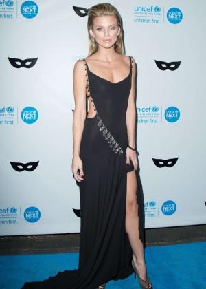 AnnaLynne McCord - 2015 UNICEF Black & White Masquerade Ball in LA