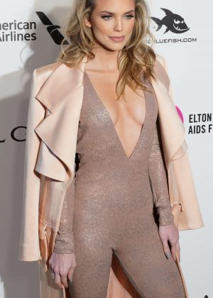 AnnaLynne McCord - 2018 Elton John AIDS Foundation's Oscar Viewing Party in West Hollywood