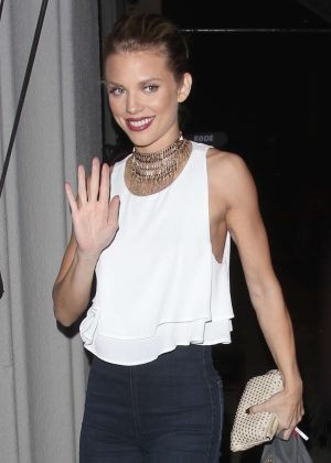 AnnaLynne McCord - Arrives at 'Craig's' restaurant in Los Angeles
