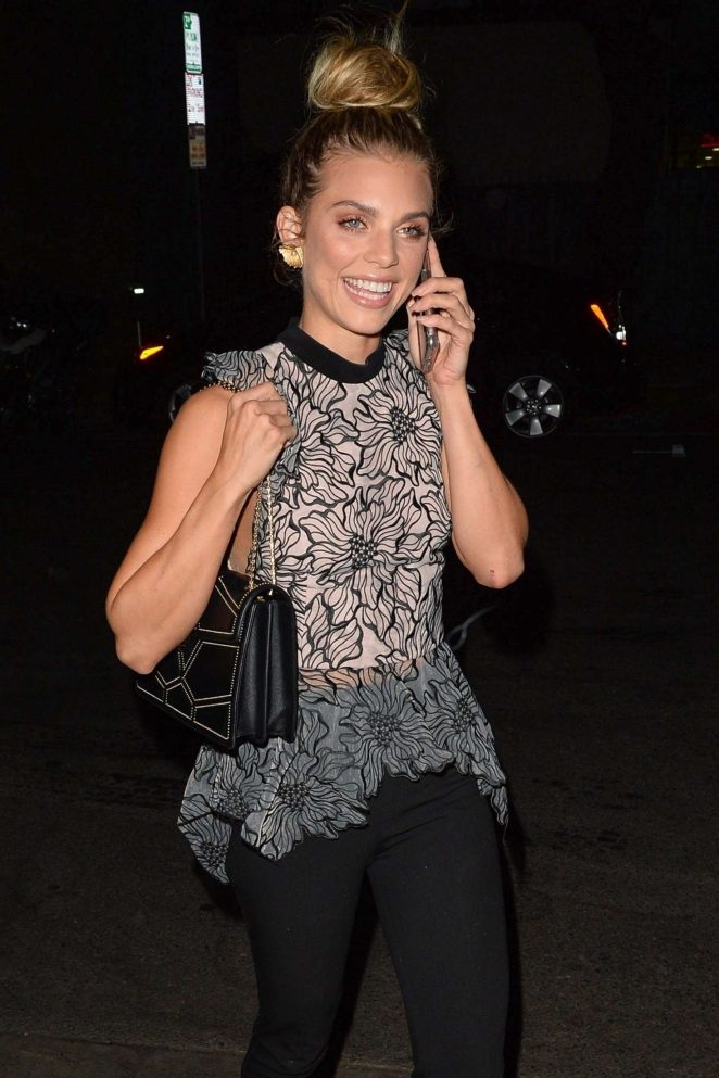 AnnaLynne McCord - Arrives at launch party in Los Angeles