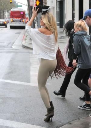 AnnaLynne McCord at Barneys New York in Beverly Hills
