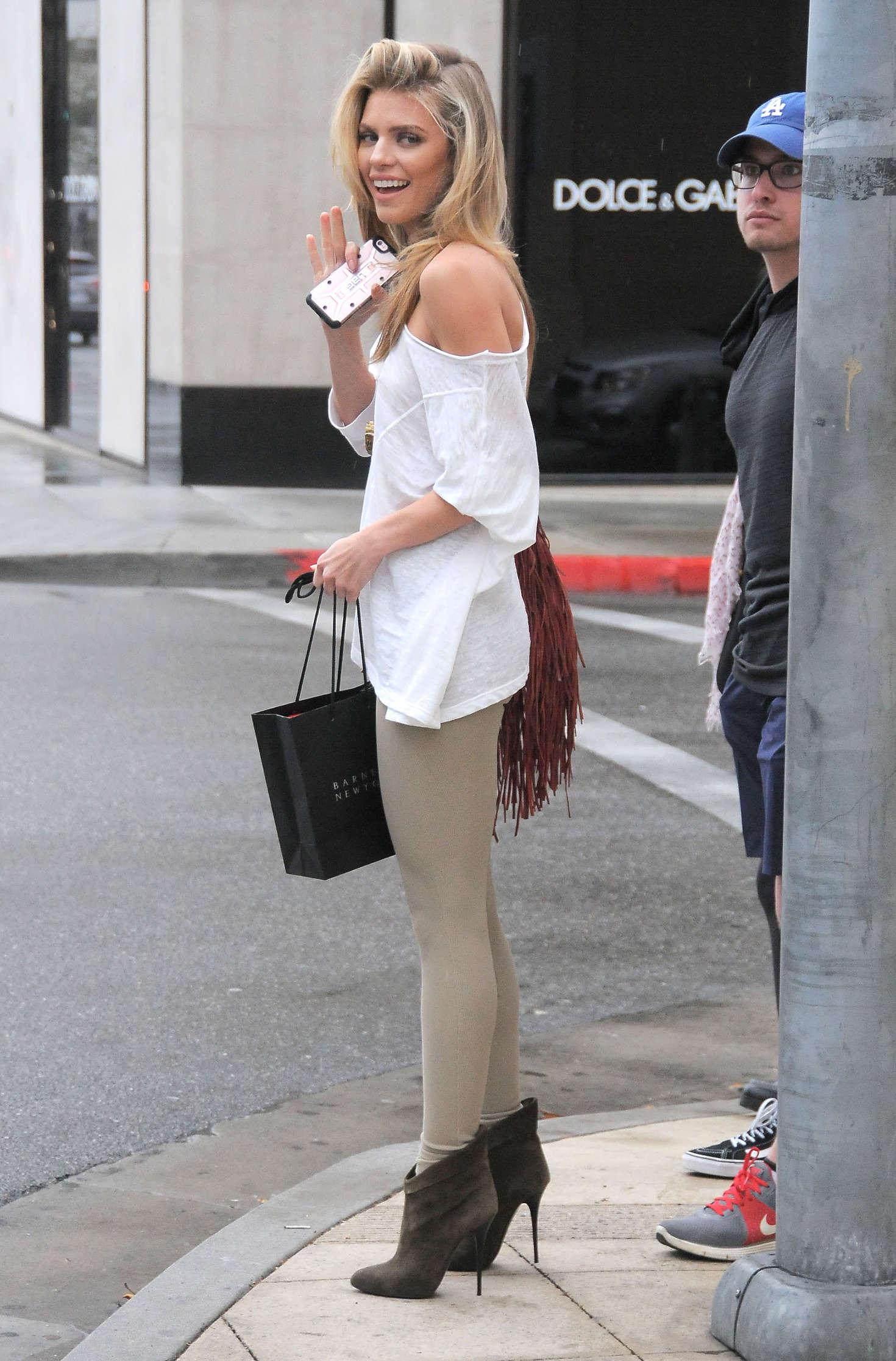 annalynne mccord booty in tights -15 - gotceleb