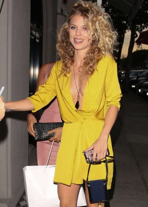 AnnaLynne McCord at Craig's Restaurant in West Hollywood