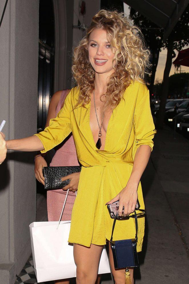 AnnaLynne McCord at Craig's Restaurant in West Hollywood