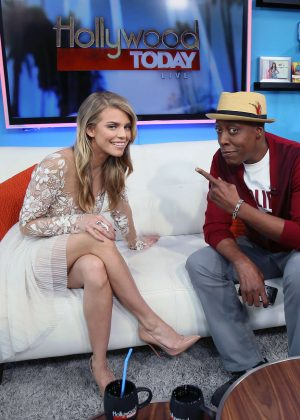 AnnaLynne McCord at Hollywood Today Live -06