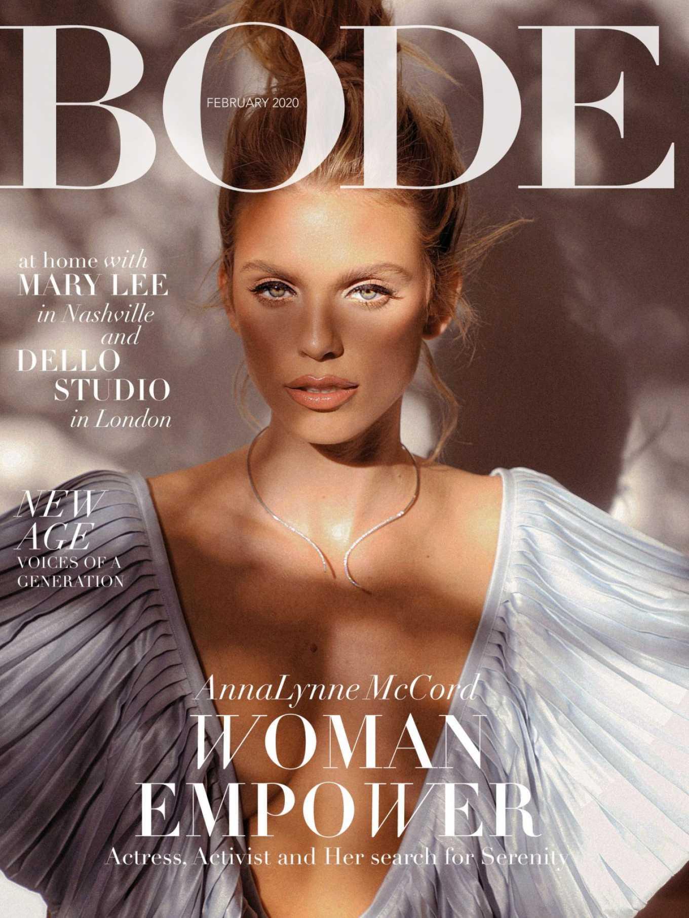 AnnaLynne McCord 2020 : AnnaLynne McCord – Bode Magazine 2020-02