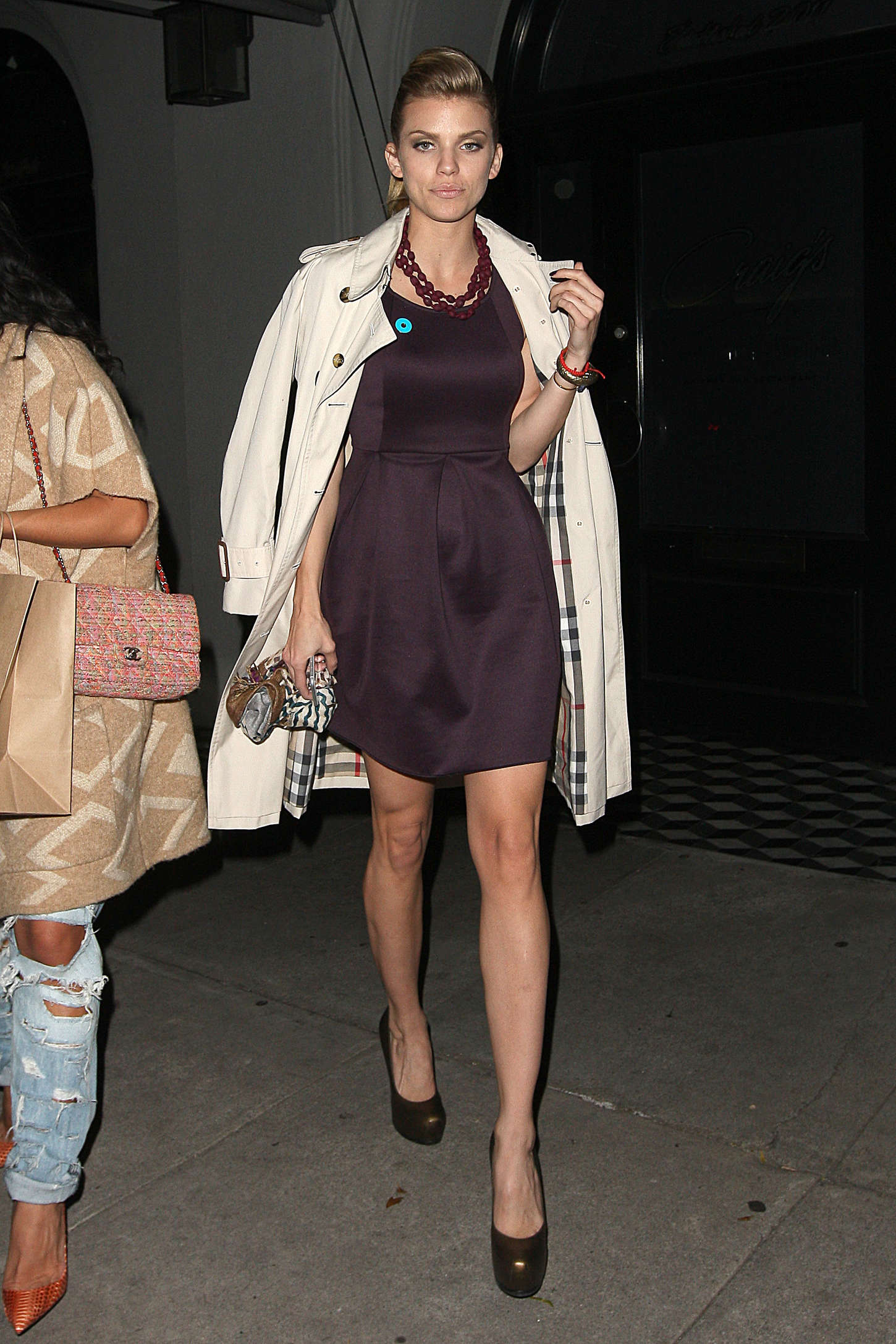 AnnaLynne McCord - Dinner at Craig's Restaurant in LA