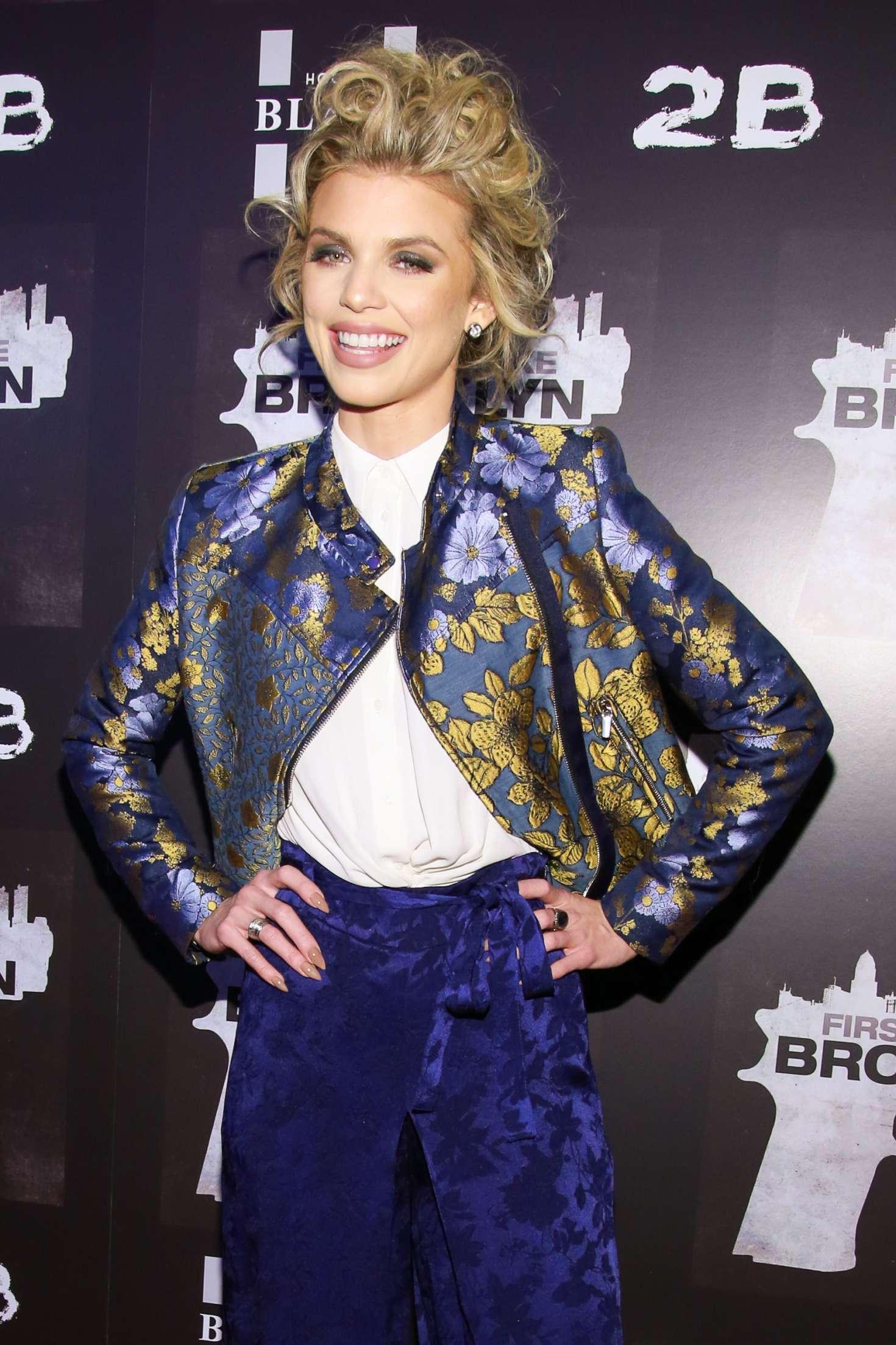 AnnaLynne McCord - 'First We Take Brooklyn' Premiere in New York