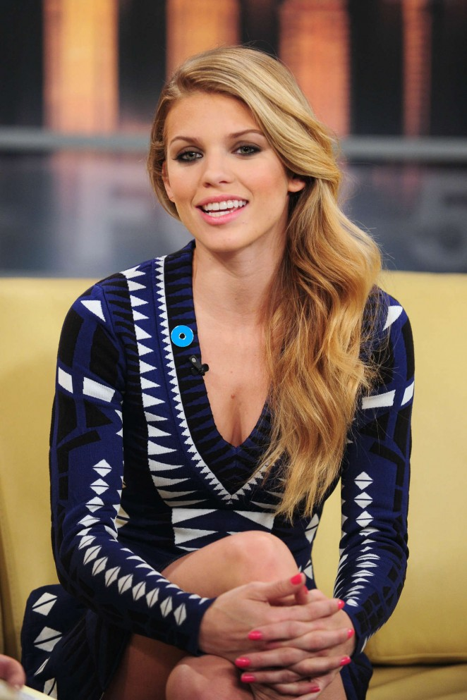 AnnaLynne McCord - Fox 5 Good Day New York in NYC