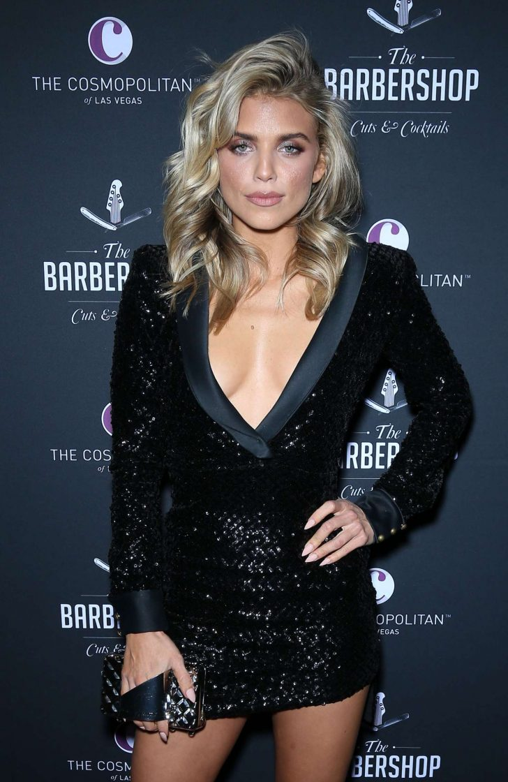 AnnaLynne McCord - Grand Opening Weekend The Barbershop Cuts and Cocktails in Las Vegas
