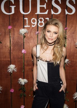 Annalynne McCord - GUESS 1981 Fragrance Launch in LA