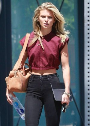 AnnaLynne McCord in Black Jeans Out in LA