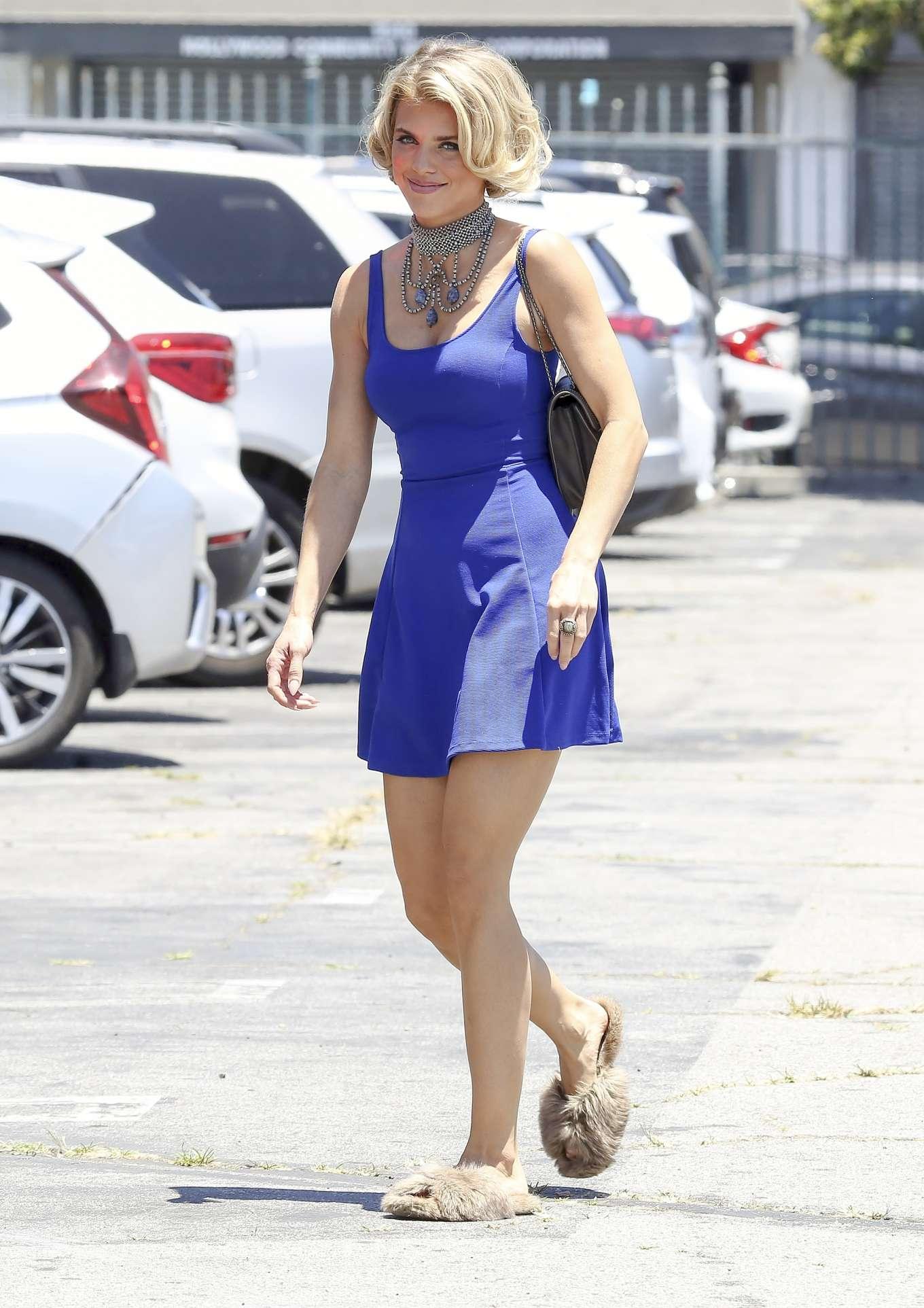 AnnaLynne McCord 2019 : AnnaLynne McCord in Blue Mini Dress-07
