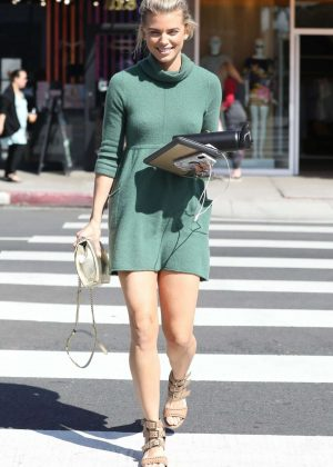 AnnaLynne McCord in Mini Dress - Out and about in LA